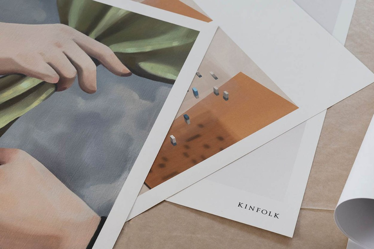 ALIUM × Kinfolk ポスター/アートプリント 40×50cm Spot The Difference