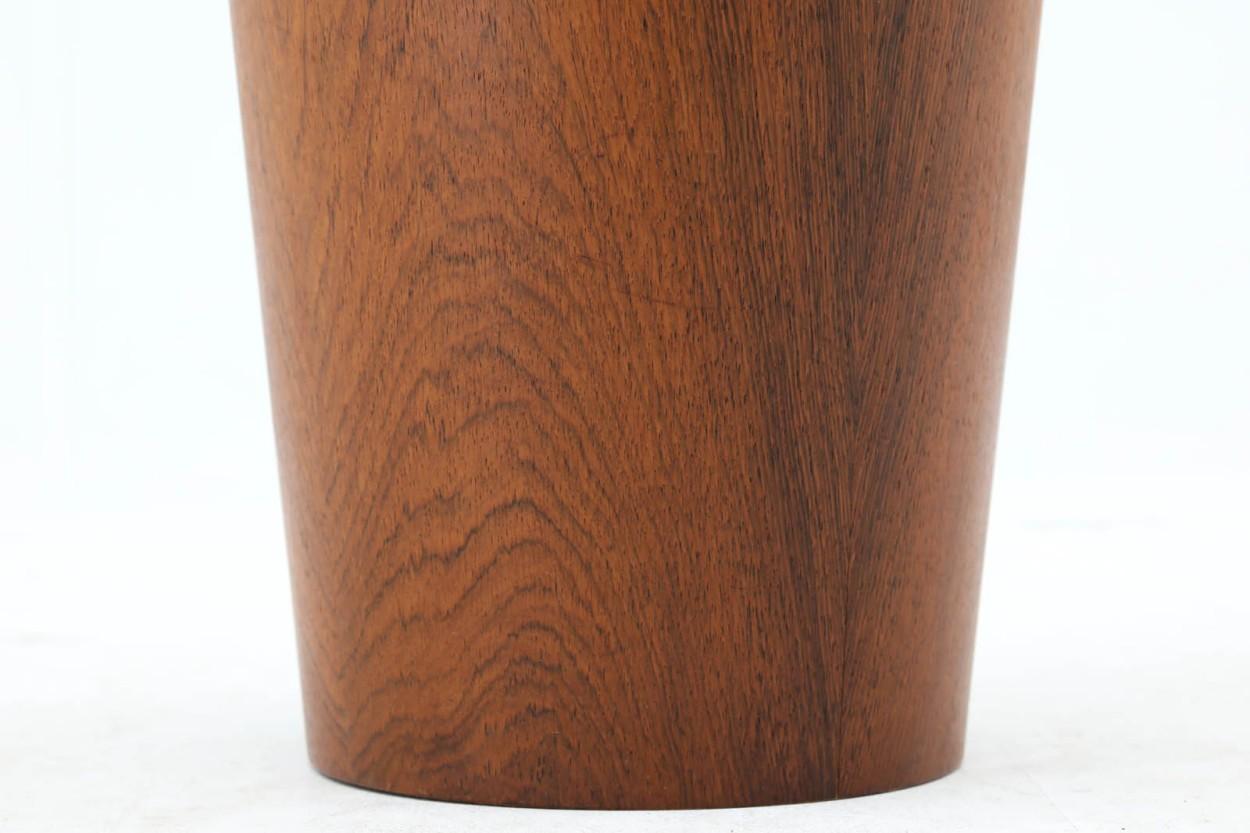 スウェーデン製 ダストボックス/ゴミ箱 ローズウッド材 北欧家具ビンテージ SERVEX/DK9640