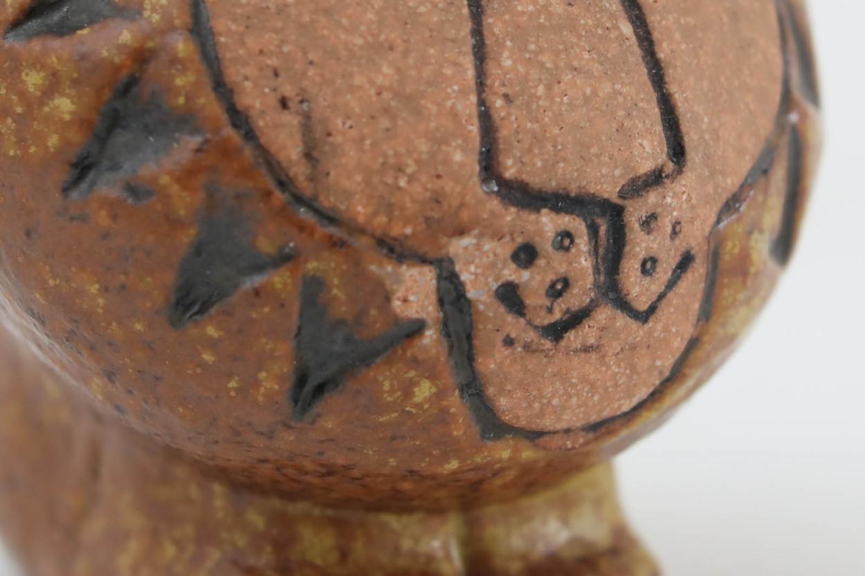 Lisa Larson リサ ラーソン AFRIKA 小さなライオン ビンテージ品/TA11397