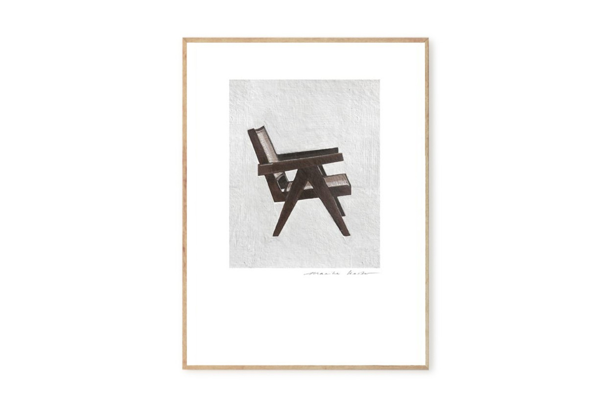 MY DEER ART SHOP ポスター/アートプリント 30×40cm Design Serie 'Pierre Jeanneret' (Limited edition #250)