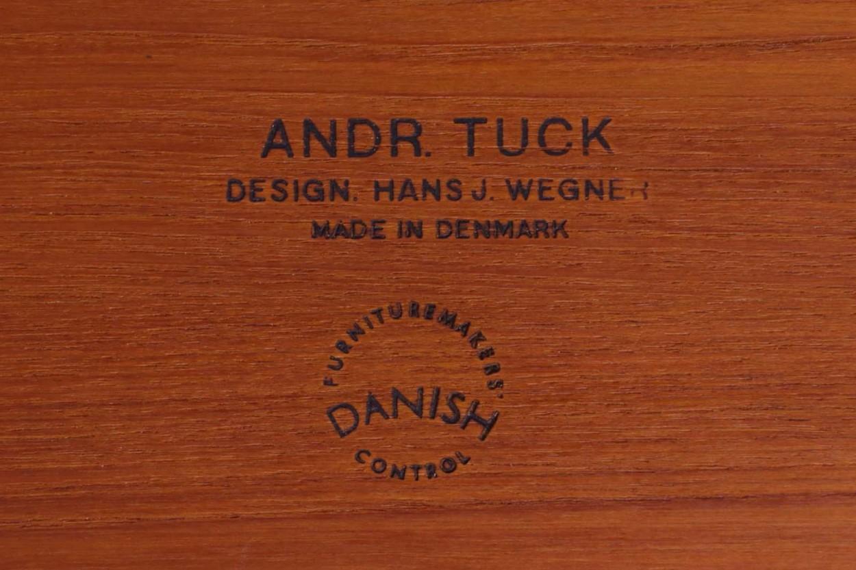 Hans J.Wegner(ハンス・J・ウェグナー) AT33 ソーイングテーブル チーク材 北欧家具ビンテージ/DK11220