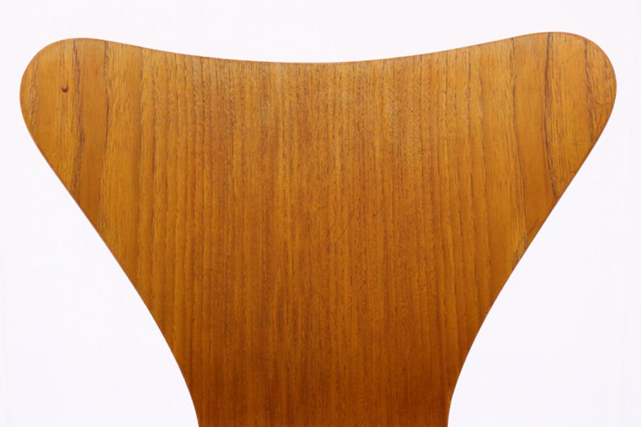 Fritz Hansen(フリッツ・ハンセン) セブンチェア チーク材 Arne Jacobsen(アルネ・ヤコブセン) 北欧家具ビンテージ/DK9038