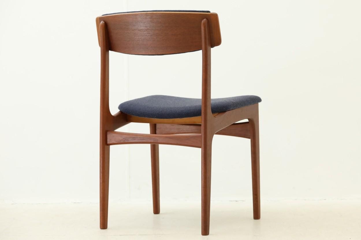 デンマーク製 チーク材 チェア 北欧家具ビンテージ/DK7725