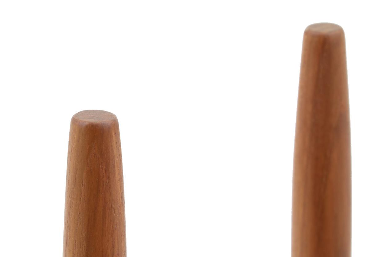 CHLOROS(クロロス) チーク無垢材のプランタースタンド/フラワーポットスタンド Mサイズ