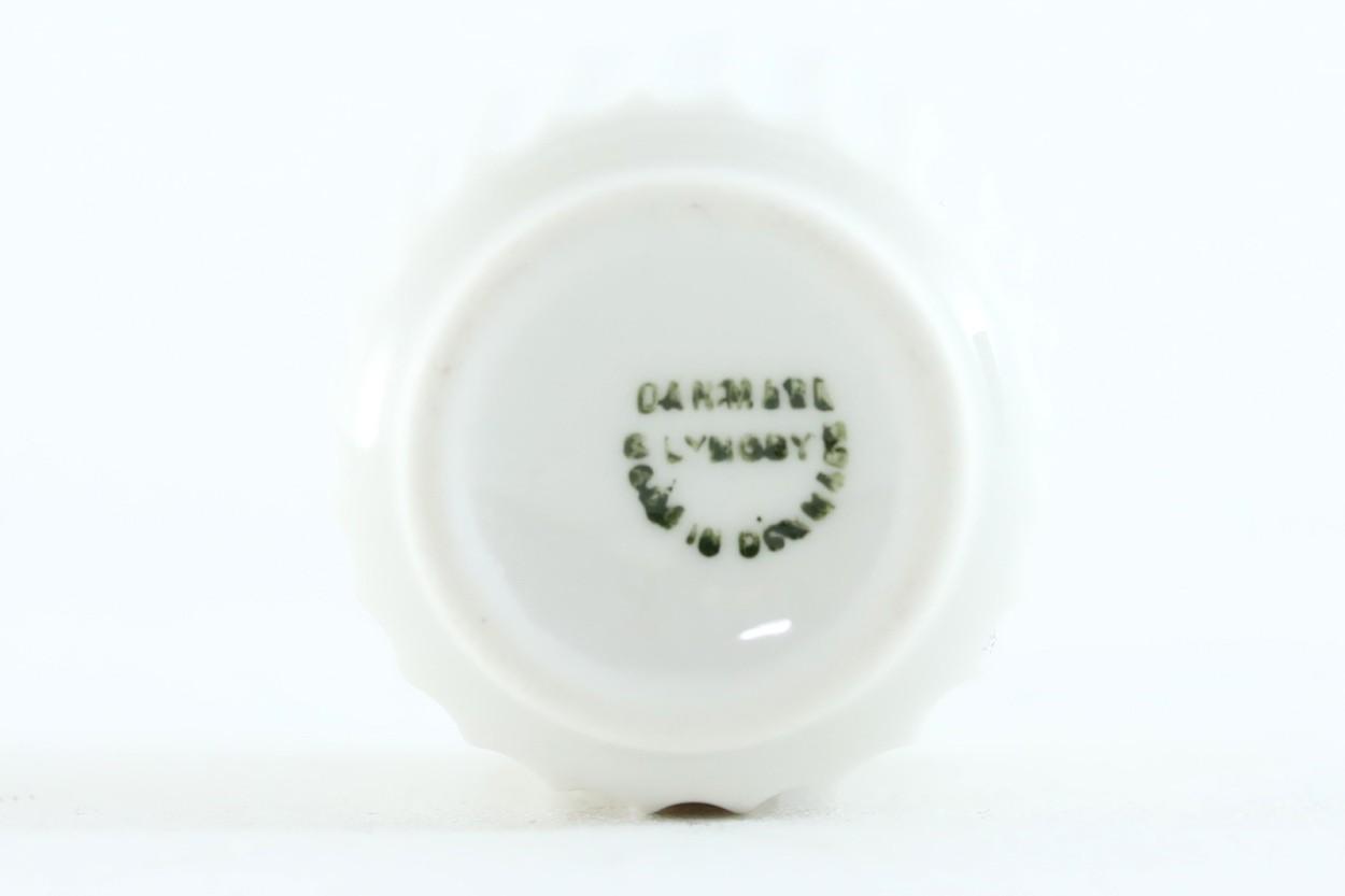 レア品 40年代スタンプ LYNGBYリュンビュー ビンテージフラワーベース 6cm/TA10086