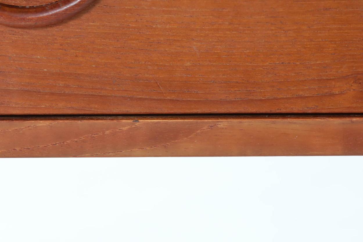 Kai Kristiansen(カイ・クリスチャンセン) チェスト チーク材 デンマーク製 北欧家具ビンテージ/DK11586