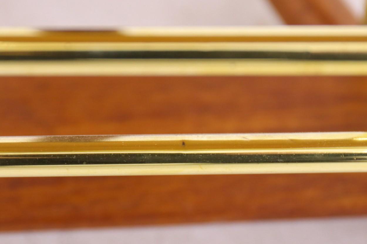 デンマーク製 お洒落な形のアッシュトレイ/マガジンラック チーク材 北欧ビンテージ家具/DK10552