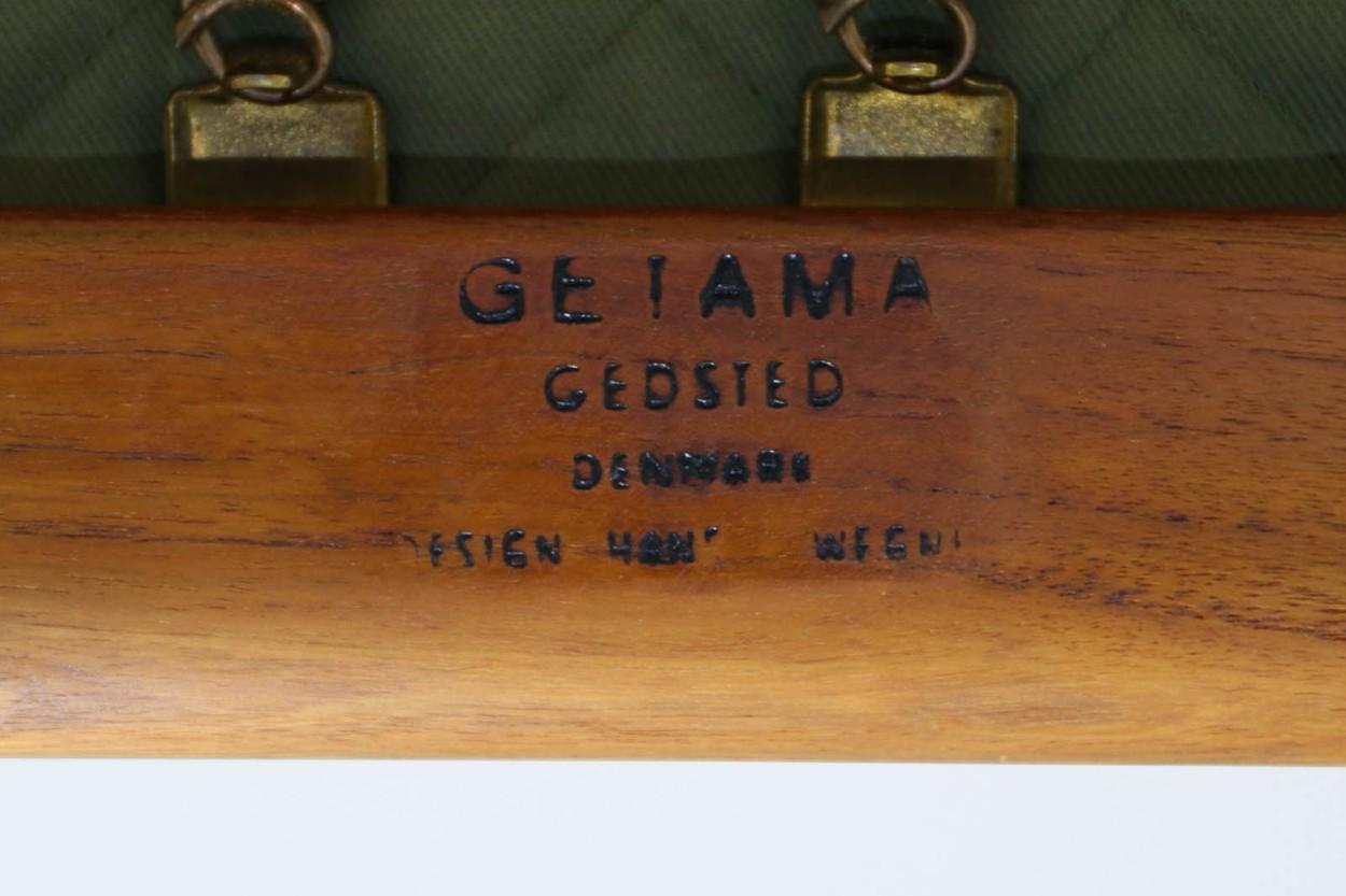 北欧家具ビンテージ GE290 シングルソファ チーク材 Hans J.Wegner(ハンス・J・ウェグナー) GETAMA/ゲタマ/DK11070