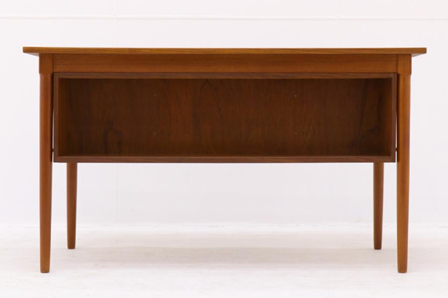デンマーク製 両袖デスク/机 北欧家具ビンテージ/DK9187