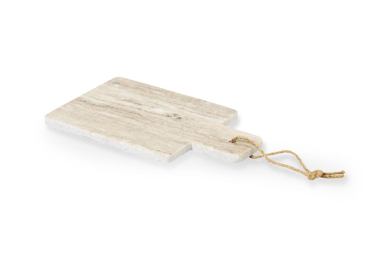 Broste Copenhagen(−) 大理石のカッティングボード ADAM ブラウン Sサイズ