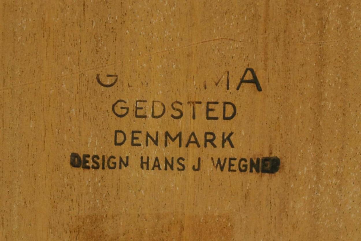 北欧家具ビンテージ GE375/GE370 オットマン/スツール オーク材 Hans J.Wegner(ハンス・J・ウェグナー) GETAMA/ゲタマ/DK10755