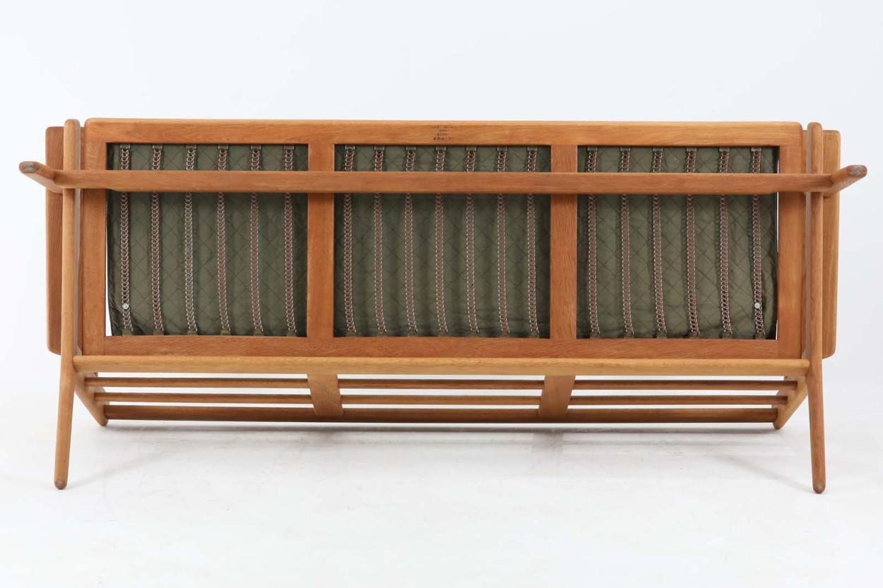北欧家具ビンテージ GE290 トリプルソファ オーク材 Hans J.Wegner(ハンス・J・ウェグナー) GETAMA/ゲタマ/DK10996