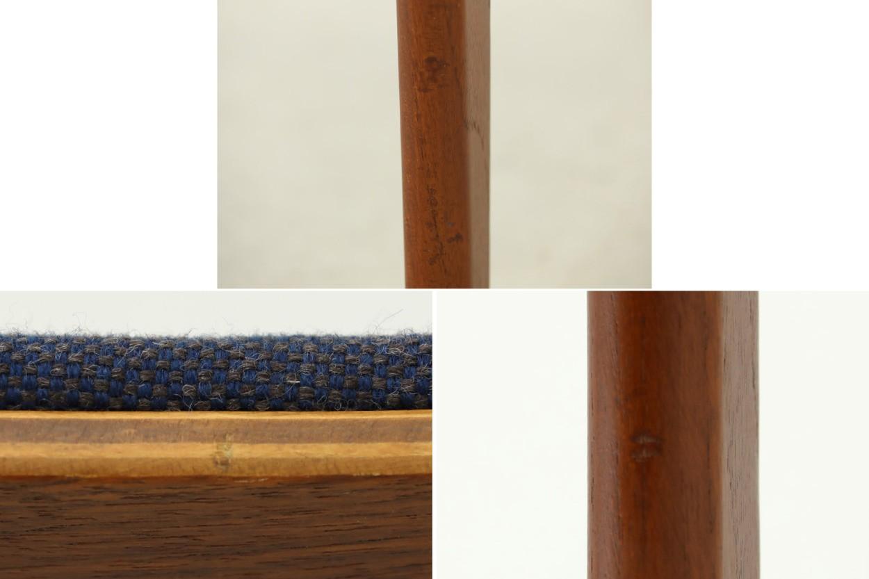 デンマーク製 チーク材 チェア 北欧家具ビンテージ/DK7723