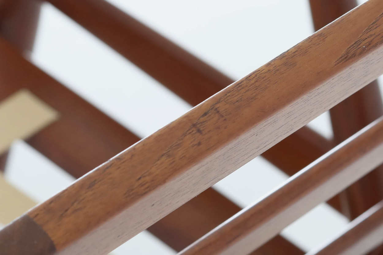 北欧家具ビンテージ GE270 シングルソファ チーク材 Hans J.Wegner(ハンス・J・ウェグナー) GETAMA/ゲタマ/DK11163