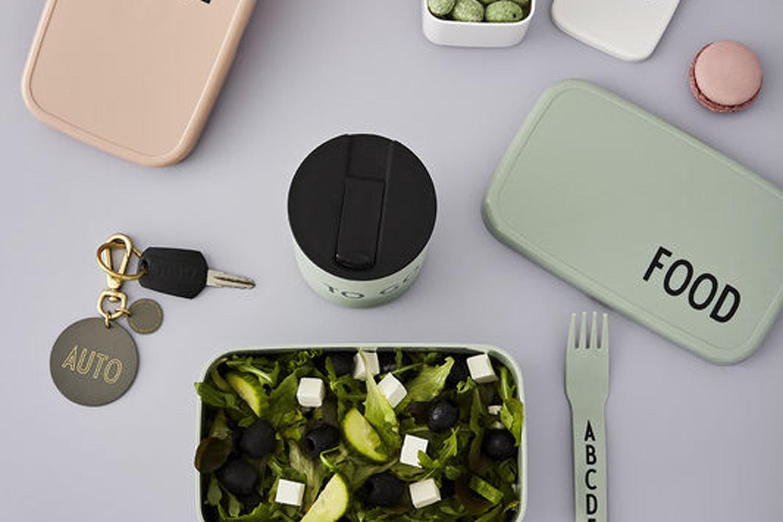 DESIGN LETTERS(デザインレターズ) Arne Jacobsen アルネ ヤコブセン キッズ用 カトラリー 4本セット パステルカラー