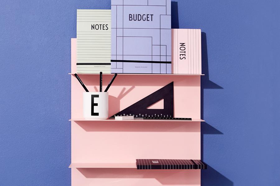 DESIGN LETTERS(デザインレターズ) Arne Jacobsen アルネ ヤコブセン アルミニウム製 三角定規