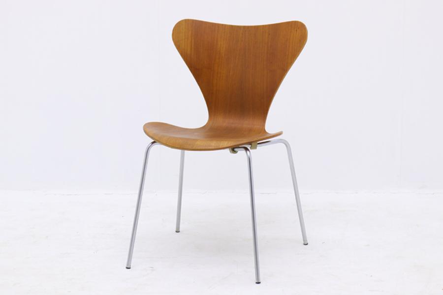 Fritz Hansen(フリッツ・ハンセン) セブンチェア チーク材 Arne Jacobsen(アルネ・ヤコブセン) 北欧家具ビンテージ/DK8921