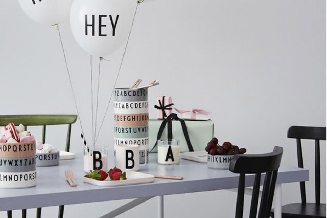 DESIGN LETTERS(デザインレターズ) Arne Jacobsen アルネ ヤコブセン ブレックファストランチディナー