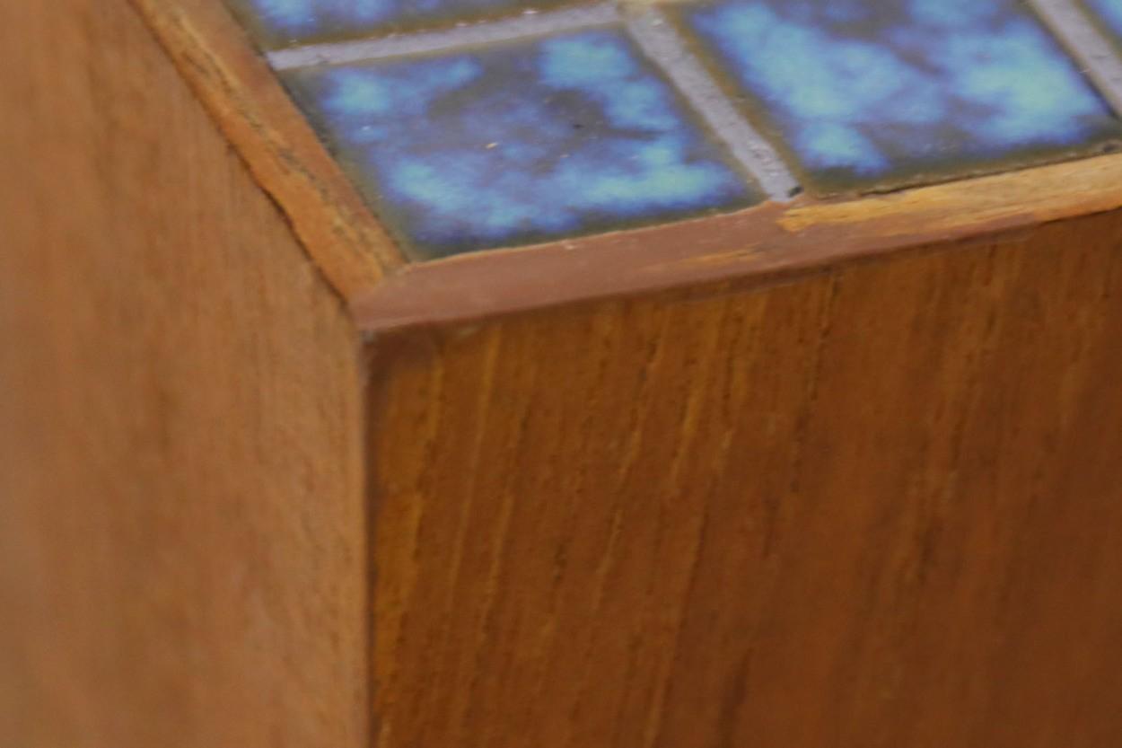 デンマーク製 チーク材 プランター 北欧家具ビンテージ/DK10362