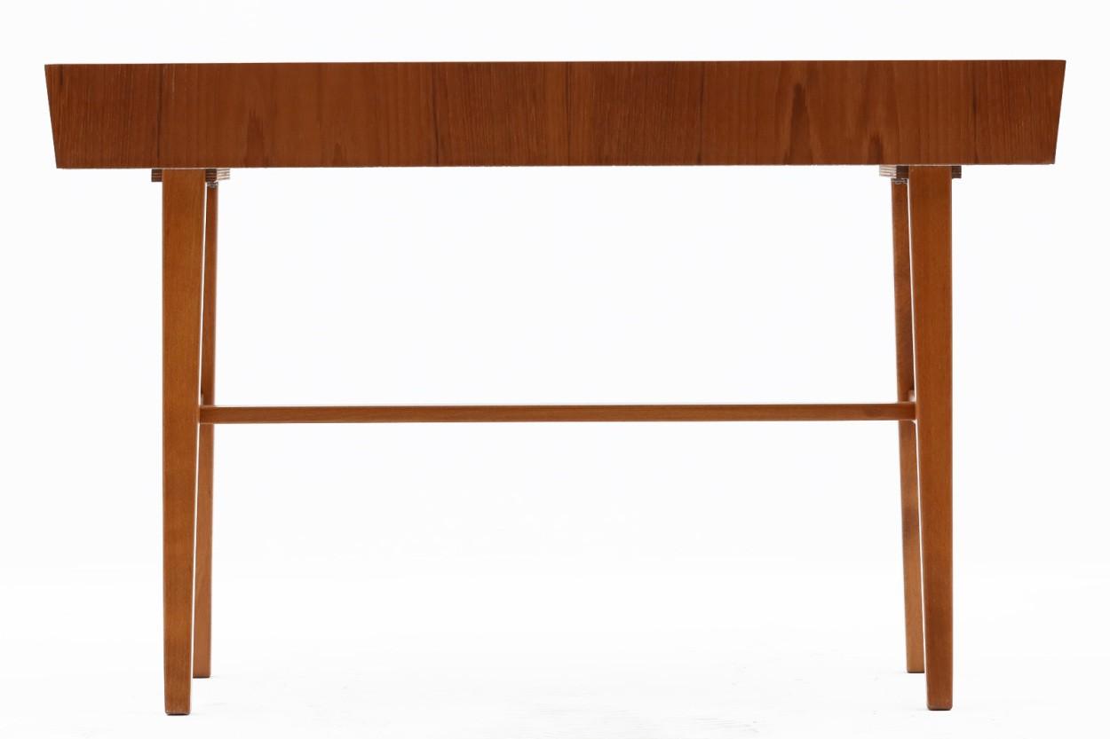スウェーデン製 プランター チーク×ビーチ材 北欧家具ビンテージ/DK11209