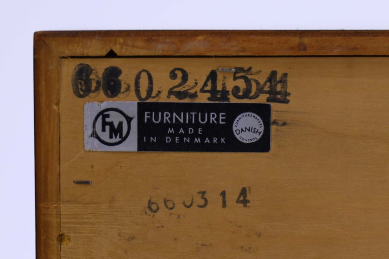 Kai Kristiansen(カイ・クリスチャンセン) チェスト ローズウッド材 デンマーク製 北欧家具ビンテージ/DK10503