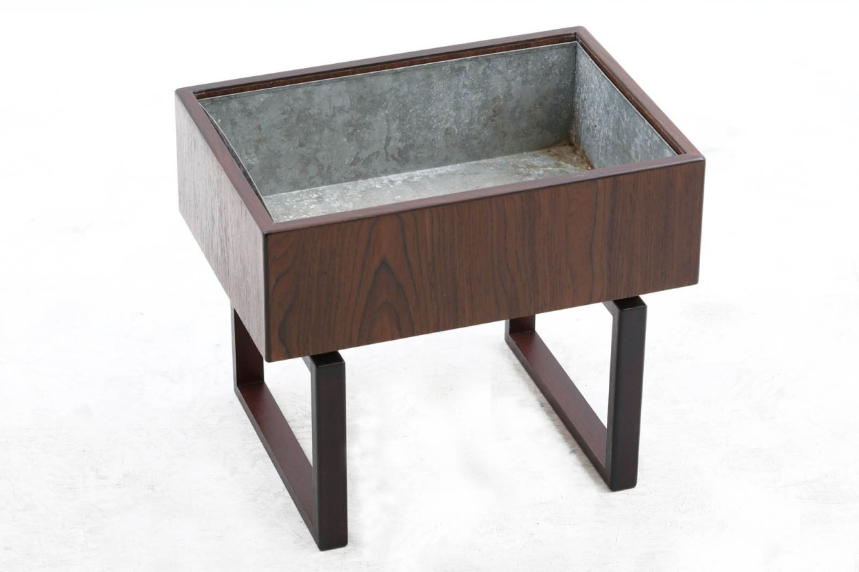 Kai Kristiansen ローズウッド材 プランター 北欧家具ビンテージ/DK10664