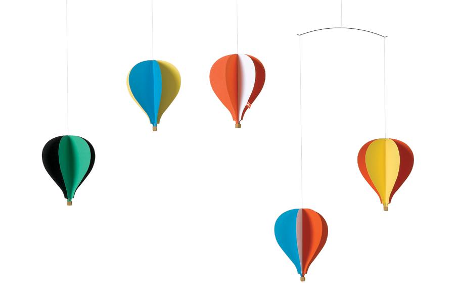 FLENSTED mobiles(フレンステッドモビール) 北欧デンマークモビール Balloon Mobile 5 バルーン気球