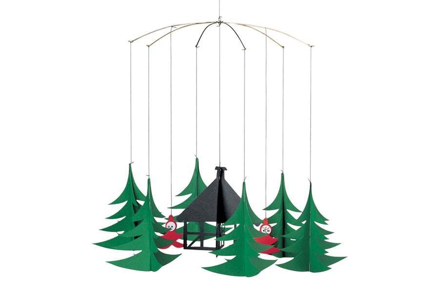 FLENSTED mobiles(フレンステッドモビール) 北欧デンマークモビール Pixies in the Xmas Forest クリスマスの森