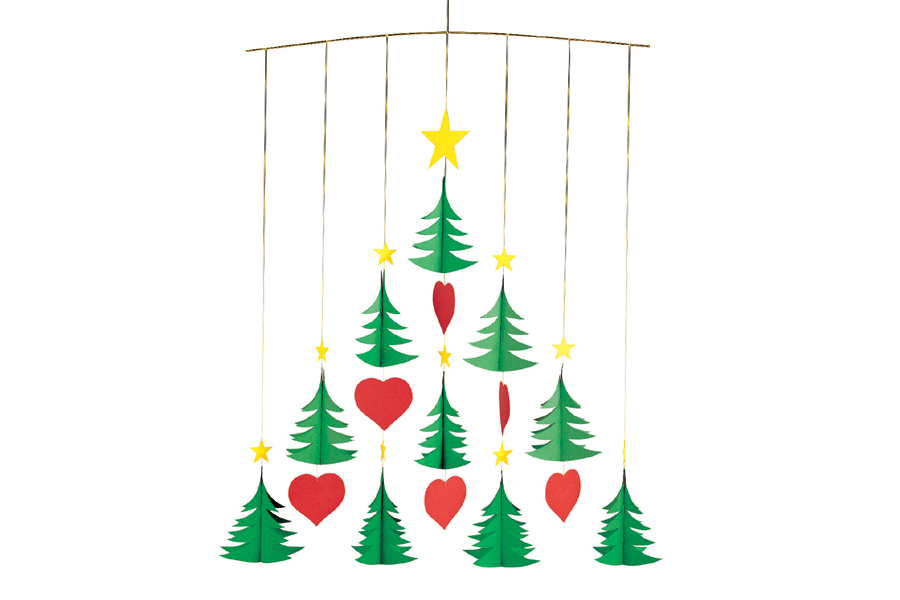 FLENSTED mobiles(フレンステッドモビール) 北欧デンマークモビール Christmas Trees 10 クリスマスツリー