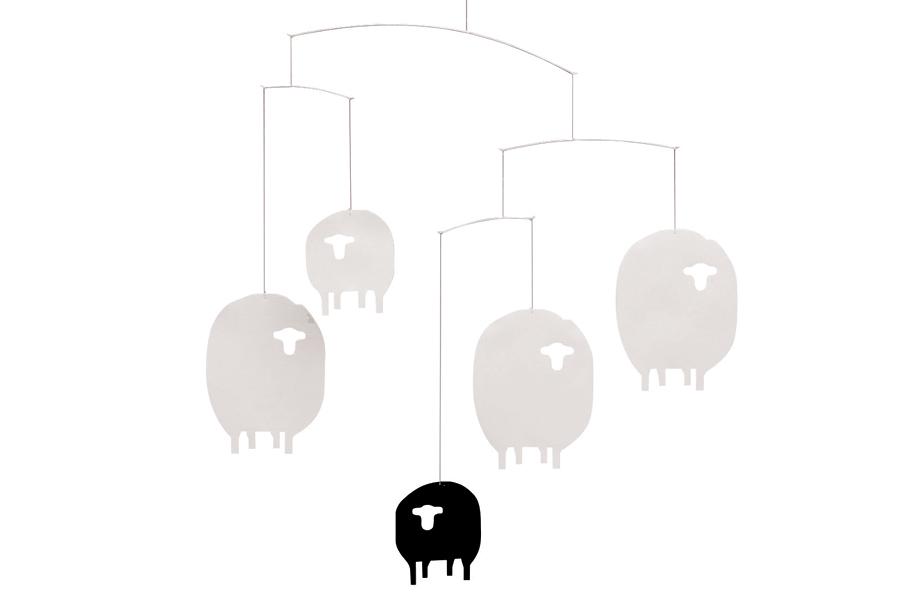 FLENSTED mobiles(フレンステッドモビール) 北欧デンマークモビール Sheep ヒツジ羊