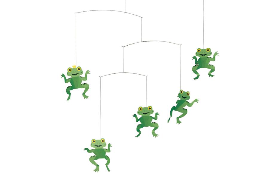 FLENSTED mobiles(フレンステッドモビール) 北欧デンマークモビール The Happy Frog カエル