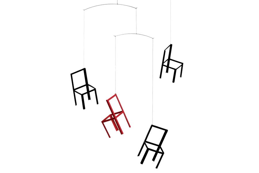 FLENSTED mobiles(フレンステッドモビール) 北欧デンマークモビール Flying Chairs チェア椅子