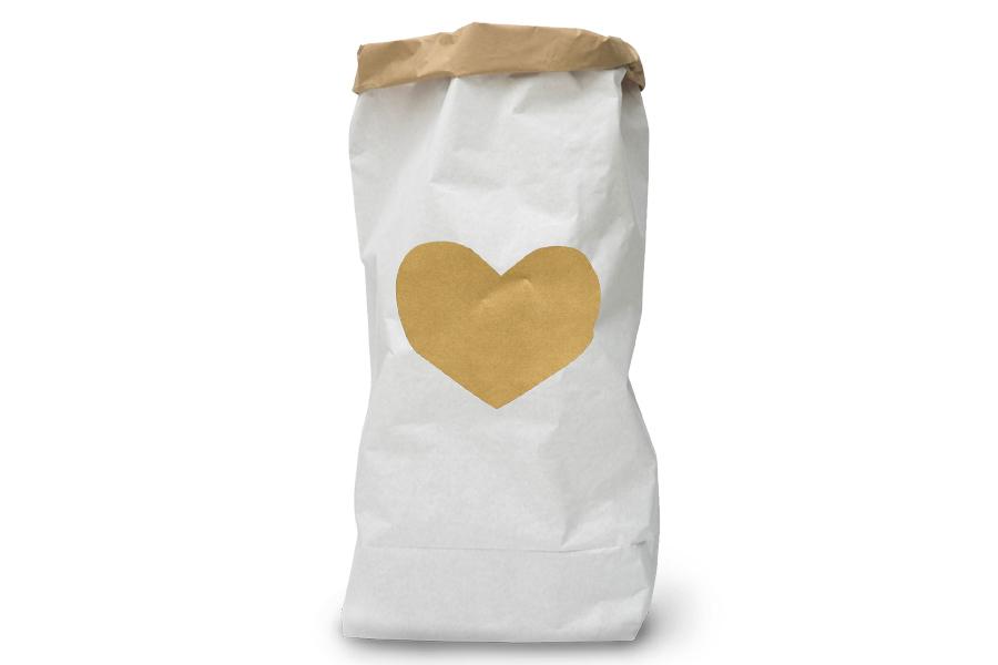 TELLKIDDO ペーパーバッグ Heart