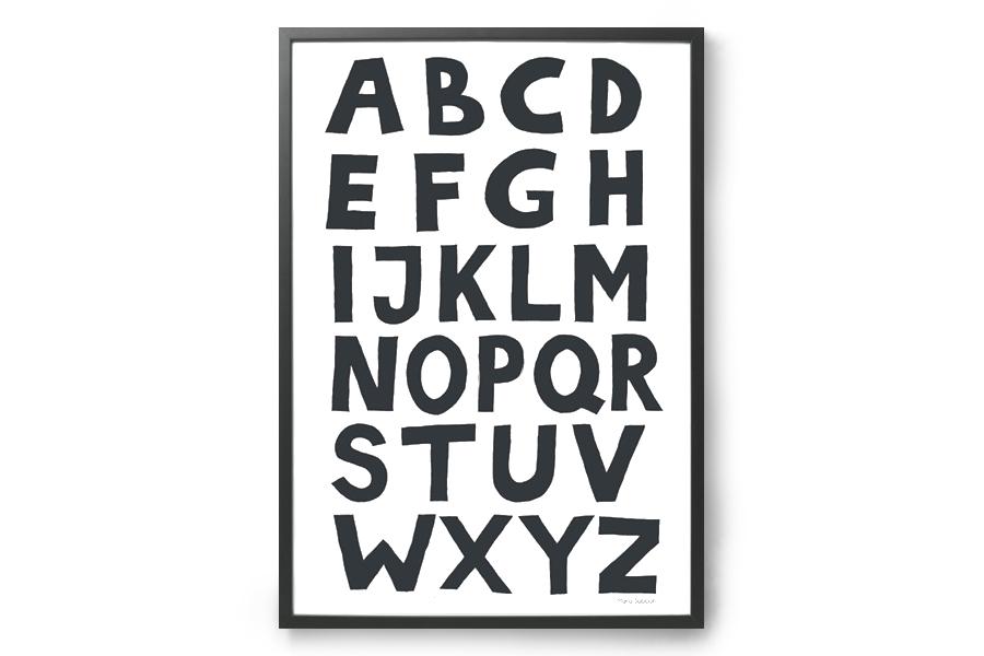 TELLKIDDO ポスター/アートプリント A3 ABC