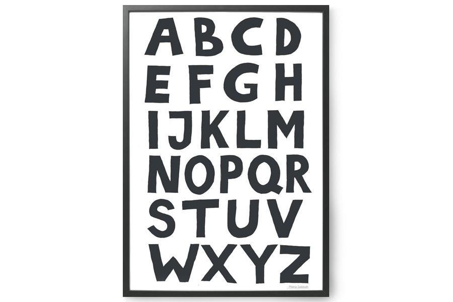 TELLKIDDO ポスター/アートプリント 50×70 ABC