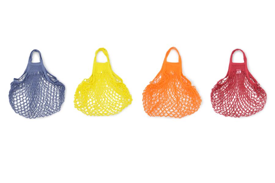 FILT(フィルト) フランス製ネットバッグ Mサイズ カラフル