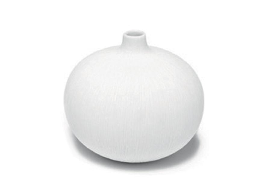 LINDFORM(リンドフォーム) フラワーベース / 一輪挿し Bari ホワイト Sサイズ