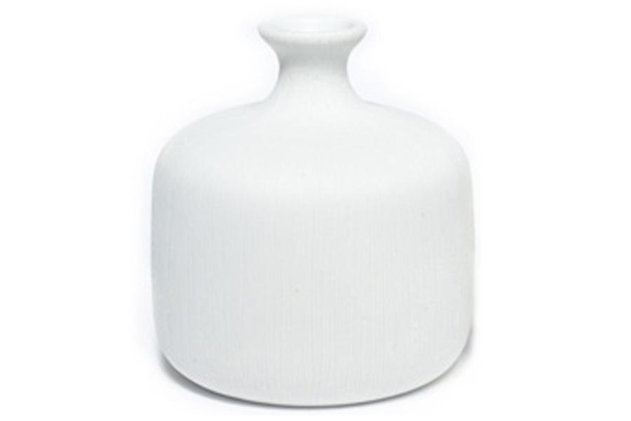 LINDFORM(リンドフォーム) フラワーベース / 一輪挿し Bottle ホワイト Sサイズ