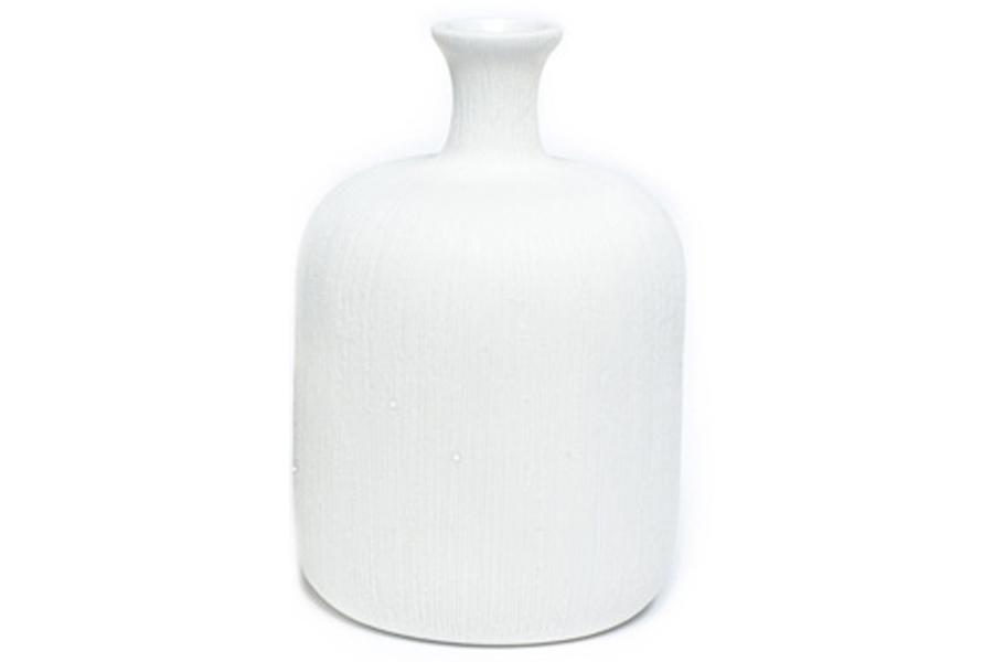LINDFORM(リンドフォーム) フラワーベース / 一輪挿し Bottle ホワイト Lサイズ