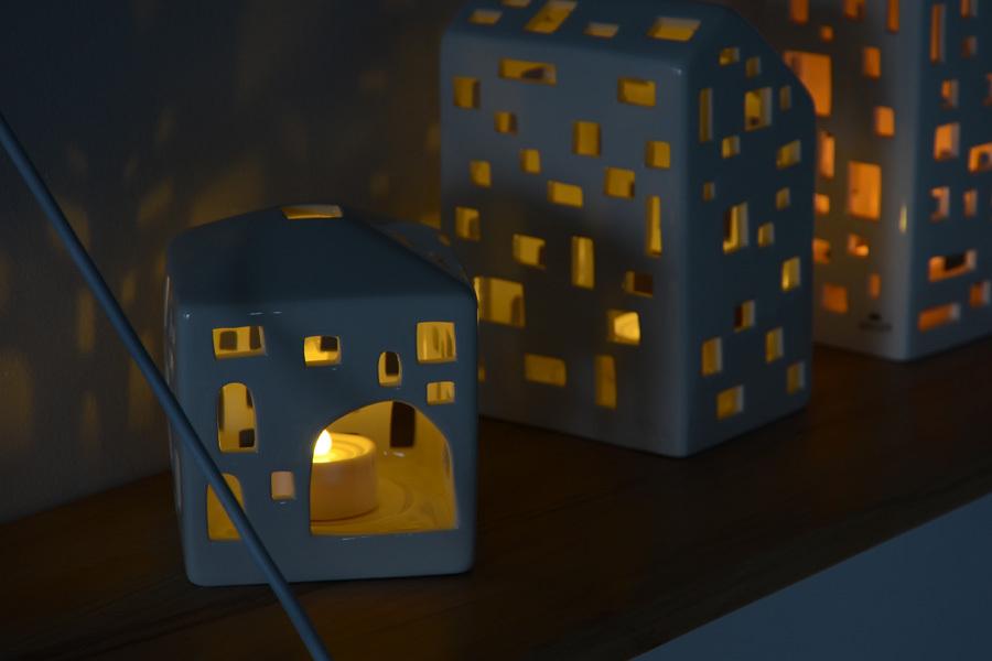LED ティーライトキャンドルライト LONE 4個セット リモコン対応モデル