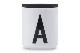 DESIGN LETTERS(デザインレターズ) Arne Jacobsen アルネ ヤコブセン ポーセリンカップ専用の木製フタ