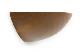 CHLOROS(クロロス) チーク無垢材のオーバル型のウォールシェルフ Lサイズ
