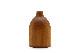 CHLOROS(クロロス) チーク材天然木のウッドベース/フラワーベース Sサイズ