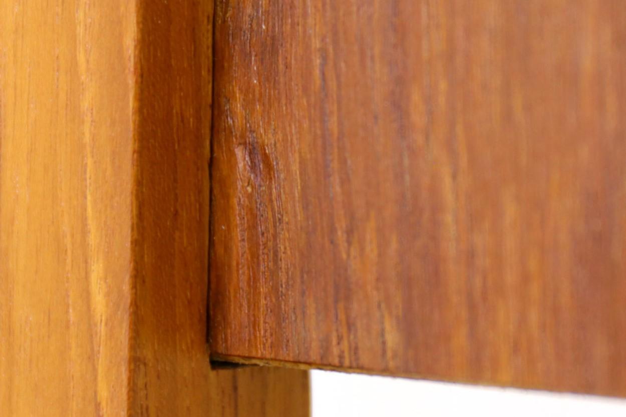 デンマーク製 チーク材 プランター 北欧家具ビンテージ/DK10725