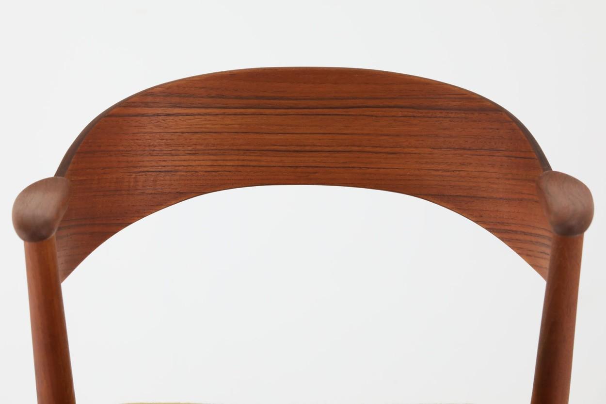デンマーク製 Kai Kristiansen(カイ・クリスチャンセン) ネイルチェア チーク材 北欧家具ビンテージ/DK11058