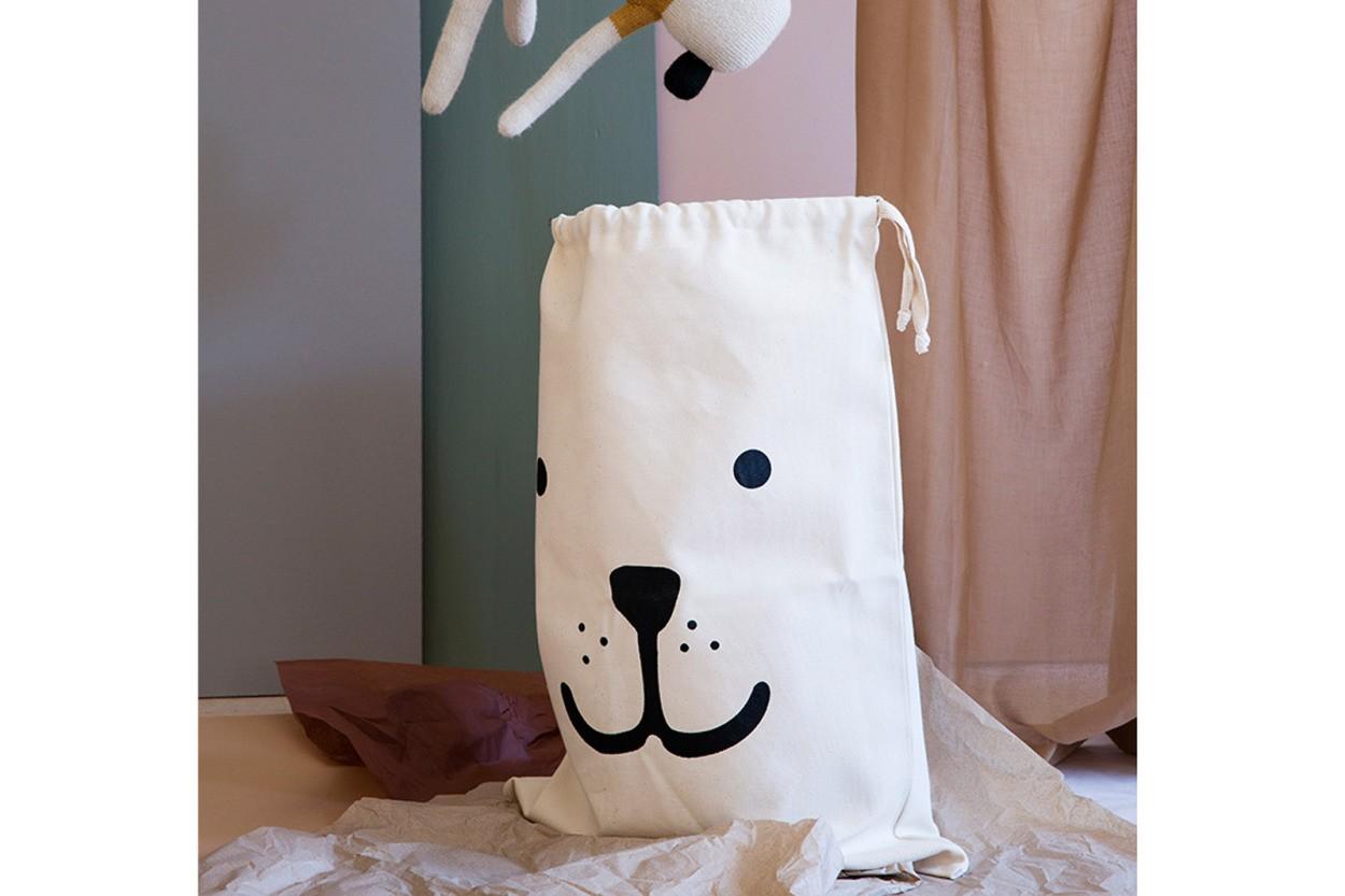 TELLKIDDO キャンバスバック Lサイズ Bear