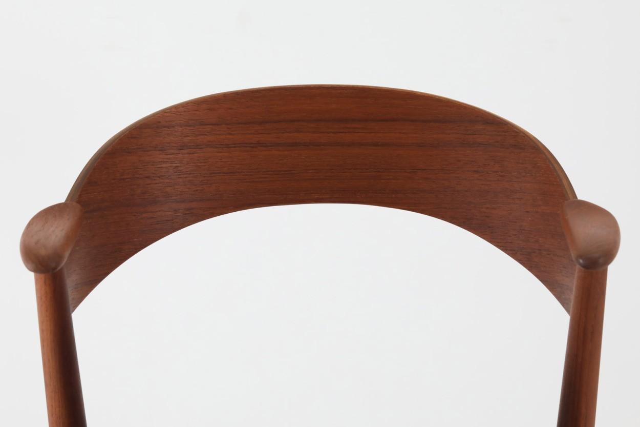 デンマーク製 Kai Kristiansen(カイ・クリスチャンセン) ネイルチェア チーク材 北欧家具ビンテージ/DK11059