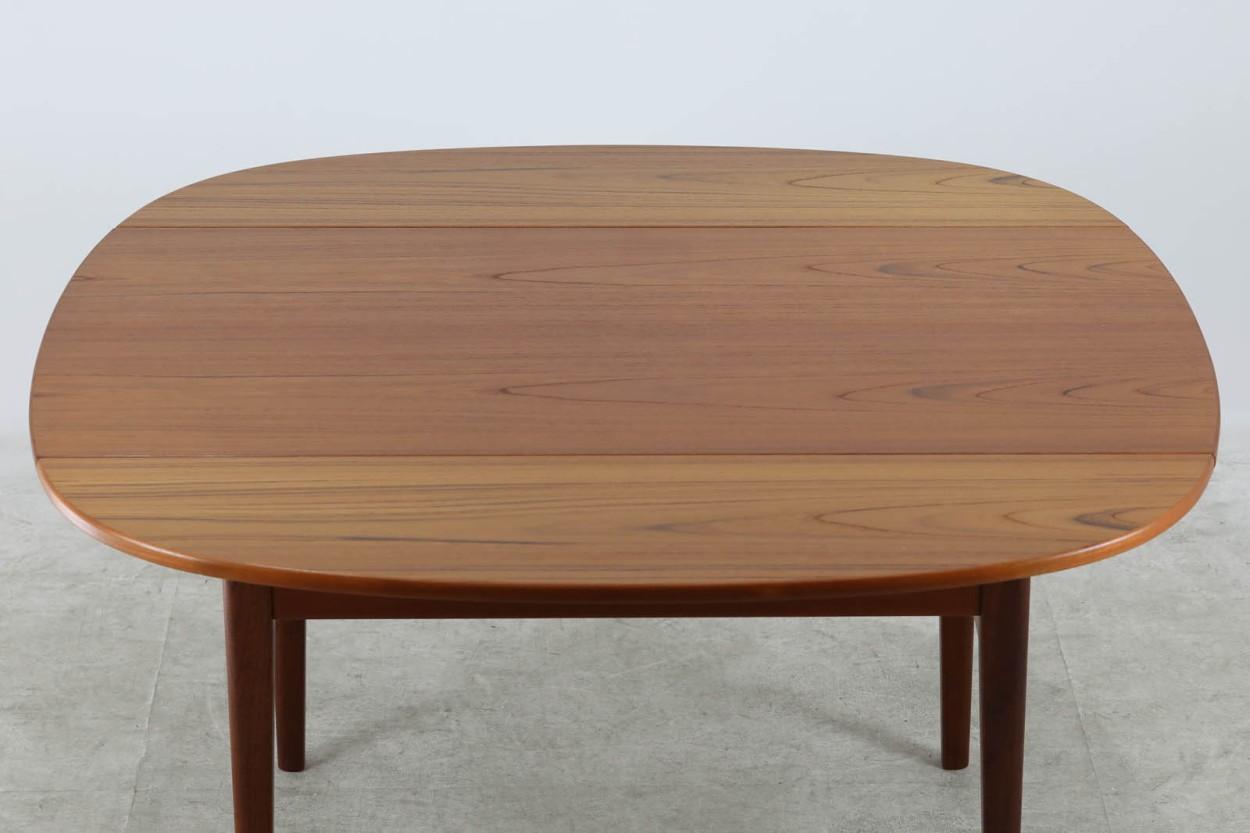 スウェーデン製 エレベーターテーブル/センターテーブル 幅130cm チーク材 北欧家具ビンテージ/DK10954