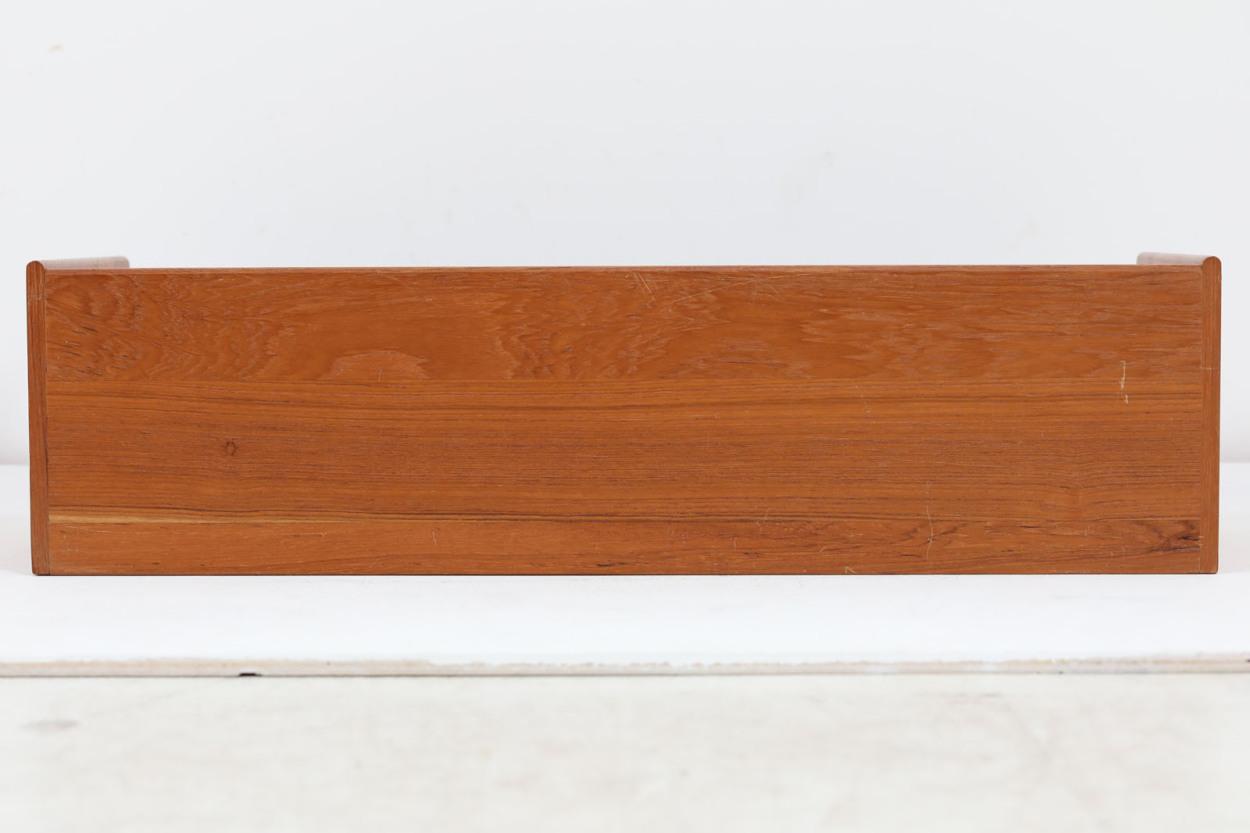 デンマーク製 チーク無垢材 小物入れ 北欧家具ビンテージ/DK12419