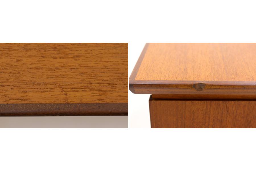 デンマーク製 両袖デスク/机 北欧家具ビンテージ/DK9197